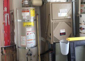 Rays plumbing installing water heater
